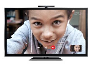 Skype on a smart TV